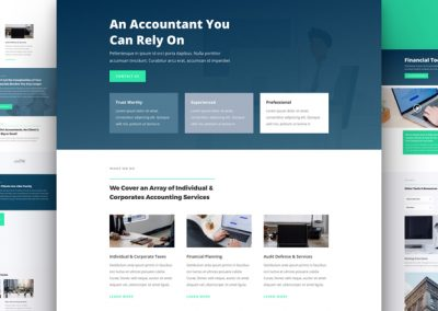 Accountant Layout