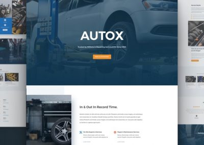 Auto Repair Layout