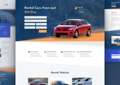 Car Rental Layout
