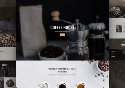 Coffee Shop Layout