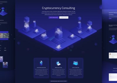 Cryptocurrency Layout