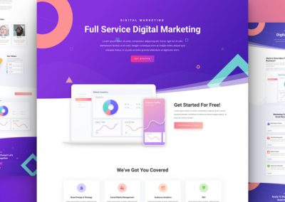 Digital Marketing Layout