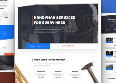 Handyman Layout