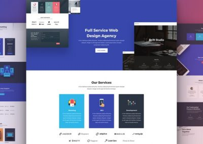 Web Agency Layout