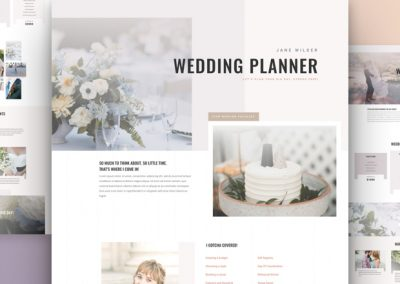 Wedding Planner Layout
