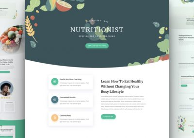 Nutritionist Layout