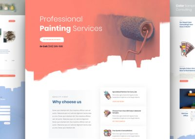 Painting Services Layout