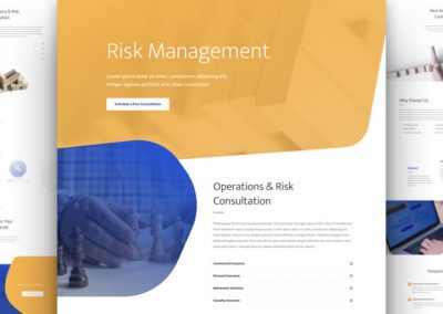 Risk Management Layout