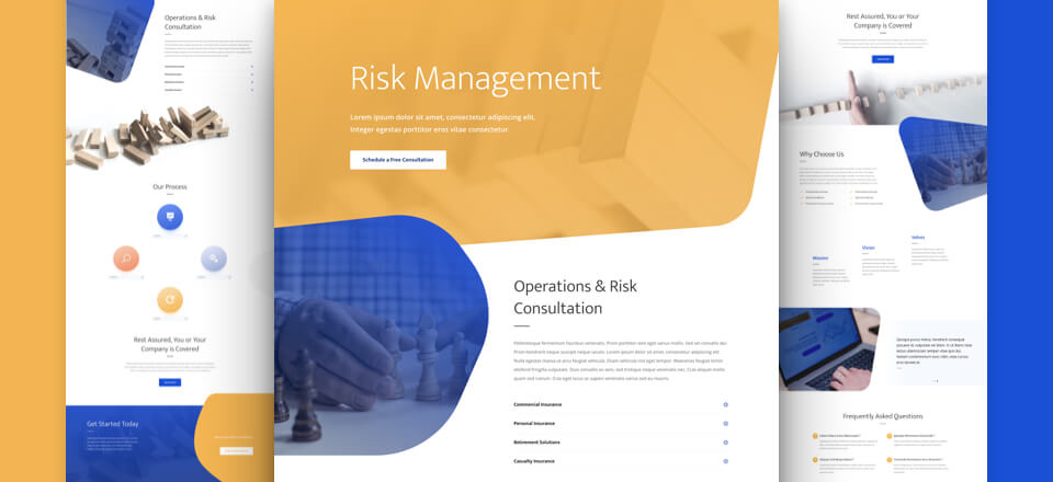 Risk Management Layout