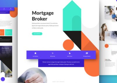 Mortgage Broker Layout