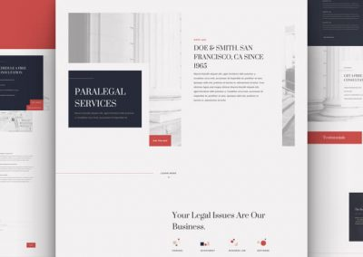 Paralegal Layout