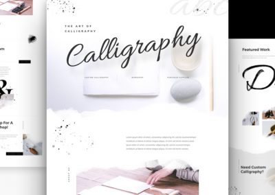 Calligrapher Layout