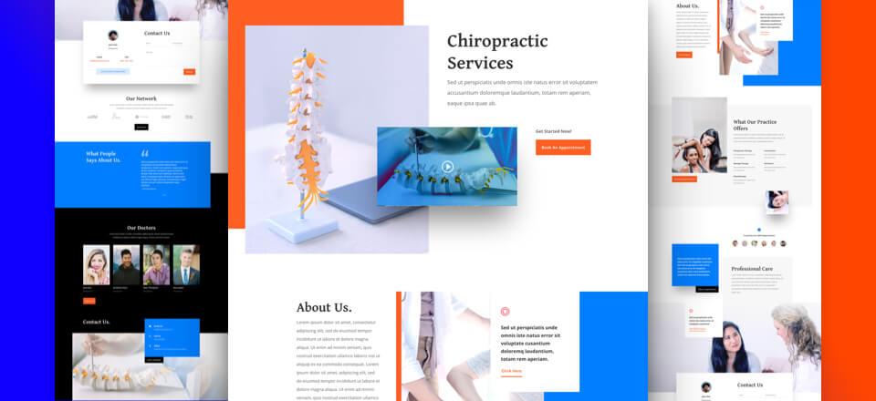 Chiropractor Layout