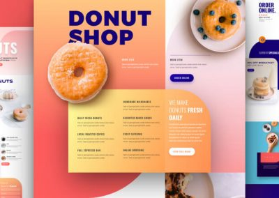 Donut Shop Layout