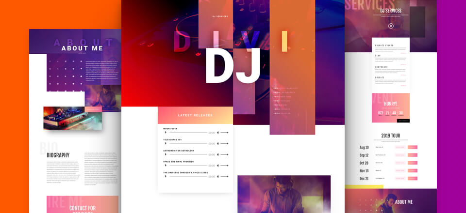 DJ Layout