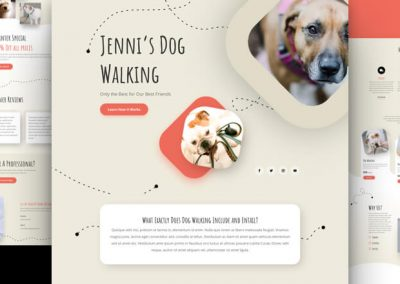 Dog Walker Layout