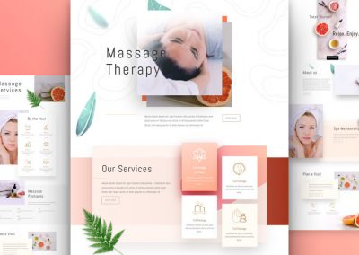 Massage Therapist Layout